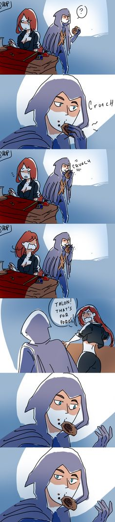 Talon and Katarina comic strip