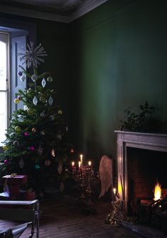 Moody Christmas ideas from Homify - Hege in France