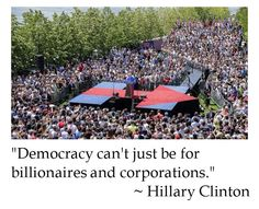 Hillary Clinton on Government