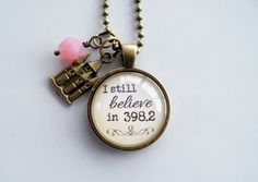 I Still Believe In 398.2 Necklace  Fairytale by OxfordBright