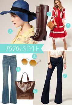1970s fashion looks | 1970s Style | theglitterguide.com