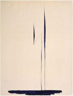 Georgia O'Keeffe, Blue Lines X , 1916