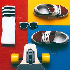 Find Set Skateboarder Sneakers Socks Skateboard Eyeglasses stock images in HD and millions of other royalty-free stock photos, illustrations and vectors in the Shutterstock collection. Thousands of new, high-quality pictures added every day. Minimal Fashion, Urban Fashion, Urban Style Outfits, Balance Board, Tropical Design, Luxury Sunglasses, Brunette Girl, Art Background, Eyeglasses