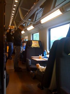 Traveling via First Class on Italy's high speed train network