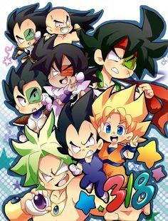 I love Dragon ball chibi. It's so freaking cute! Manga Dragon, Dragon Z, Tarble Dbz, Anime Chibi, Anime Art, Dragon Ball Z Shirt, Pokemon, Chibi Characters, Cute Dragons