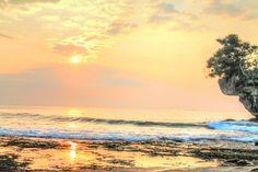 Sunrise Madasari Beach, Pangandaran West Java