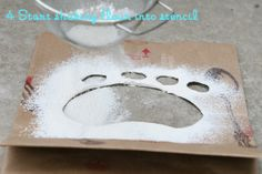 How to make Easter Bunny paw prints... I want to do this for Connor once he understands the actual concept of the Bunny coming!!