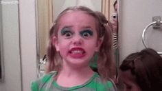 When ~someone~ goes through your makeup kit… | 15 Unexpected Mom-Ments That Deserve A Reward