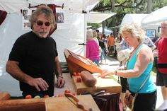 Robert Linn exhibited at the 2013 Tarpon Springs Fine Arts Festival on the Bayou in the Wood category