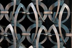 Standing Firescreen detail 2 by redstarironworks, via Flickr