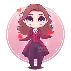 ✨❤️✨ Scarlet Witch/ Wanda Maximoff ✨❤️✨ I love her outfits the the movies :3 Ok so imma draw 3 more heroes in the series for now... not sure who • #wandamaximoff #scarletwitch #elizabetholsen #marvel #mcu #mcuart #marvelart #marvel #comicbook #comics #cute #kawaii #chibi #infitywar #avengersinfinitywar #avengers #instaart #instadaily #instaartist #illustrationoftheday #illustration #digitalpainting #digitalart