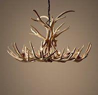 Adirondack antler chandelier rhbabyandchild interior and deco aspen antler chandelier sunbleached overall diam aloadofball Images