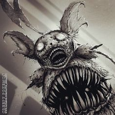 This Artist Reimagined 20+ Pokémon Characters As Monsters, And They're Terrifying