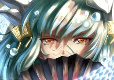 Aqua Hair, Bts Twt, Fan Anime, Yellow Eyes, Fate Zero, Type Moon, Hair Ornaments, Fate Stay Night, Cosplay