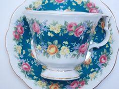 Royal Albert Vintage Fine Bone China Tea Cup by TheVintageFind1, $36.00