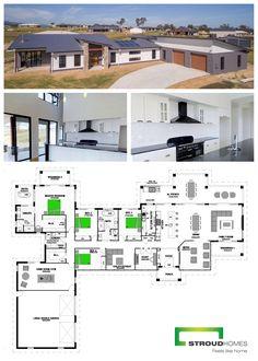 Duplex House Plans, Dream House Plans, Modern House Plans, House Floor Plans, Dream Home Design, Home Design Plans, My Dream Home, House Design, House Facades