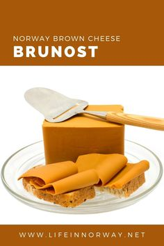 One of Norway's most intriguing foods (to foreigners at least) is eaten daily by many Norwegians for breakfast, lunch, or as a snack. Norwegian brown cheese is known as brunost.