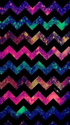 Dark Chevron Galaxy Wallpaper #androidwallpaper #iphonewallpaper #wallpaper #galaxy #sparkle #glitter #lockscreen #pretty #love #cute #girly #chevron #hipster #pattern #art #colorful