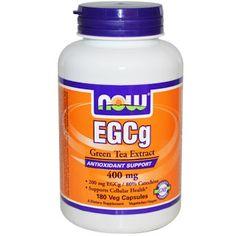 Now Foods ЭГКГ экстракт зеленого чая 400 мг 180 капсул