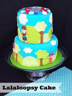 Lalaloopsy Birthday Cake- for a Boy & Girl!