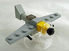 Messerschmitt Bf 109 by Alan: Tiny plane : ) #Lego #Plane