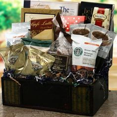 Father's Day gift basket, Fathers Day gift baskets, Fathers Day gift ideas, almond biscotti, chocolate wafer rolls, chocolate raspberry cake, chocolate chip cookies, coffees, latte mix, hazelnut coffee, tea, hot coocoa mixes, pecan caramels. $110.95  http://www.oldtimechocolates.com/store/fathers-day-gift-baskets/ultimate-fathers-day-gift-basket-fathers-day-basket-777700000403026/
