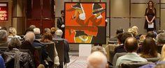 """Türk çağdaş sanatının usta isimlerinden Burhan Doğançay'ın """"Red&Black Composition"""" adlı tablosu, 850 bin, Fahrelnisa Zeid'in """"Mona"""" eseri 750 bin ve """"Naughty Boy"""" isimli eseri ise 600 bin liradan alıcı buldu."""
