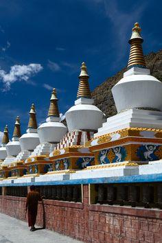 Tibetan Stupa in India