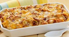 Cheesy Bacon and Egg Brunch Casserole: This one-dish brunch casserole is ideal for a crowd. Add a fruit salad and you can sit back and enjoy your company.