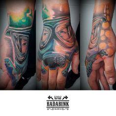 Realismo Full Color en Badabink Valencia Tattoo. + Info en el 666852293 (Whatsapp). Valencia.