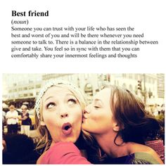 And how appropriate it is that it is Blake lively who is tall.and has green eyes (I think) and her gossip girl and real life best friend who is short. And brown hair and brown eyes. Someecards, Best Friends Forever, My Best Friend, Definition Of Best Friend, Serena And Blair, Besties, Bestfriends, Cute Quotes, Funny Quotes