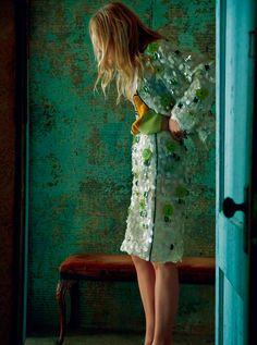 Dree Harper for Harper's Bazaar UK March 2016