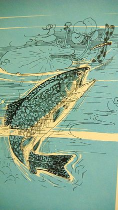 Cutthroat trout drawing google search sketch me later for Ice fishing near me
