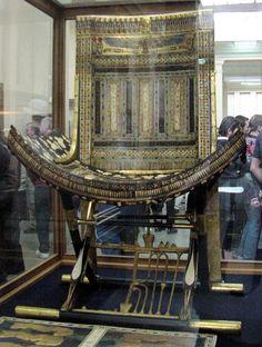 Pharaoh King Tut Ankh Amun, Ecclesiatical Throne.