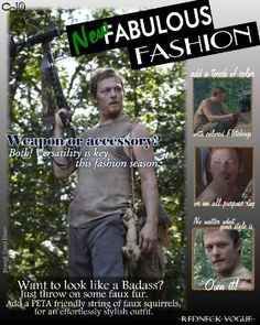 Redneck Vogue  [ The Walking Dead ]