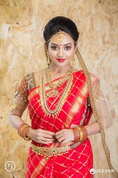 You Will Definitely Want To Steal These Bridal Looks For Your Wedding Beautiful Girl Indian, Most Beautiful Indian Actress, Beautiful Saree, Beautiful Bride, Beautiful Women, Indian Bridal Photos, Indian Wedding Fashion, Indian Wedding Bride, Indian Wedding Jewelry