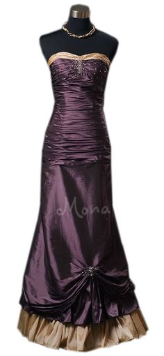 Victorian aubergine evening prom dress Edwardian ball gown Downton Abbey styled dress Wedding dress made in the UK. $240.00, via Etsy.