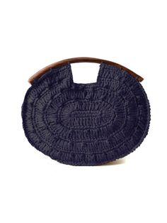 """Mar y Sol """"Juliette"""" Crocheted Clutch, $85"""