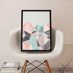 Confira nossas artes geométricas!😍  #decohouse #decohouseoficial #decor #interiordesign #geometric #geometrico #poster #scandinaviandesign