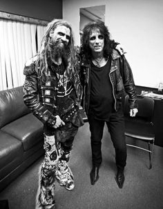 Rob Zombie and Alice Cooper