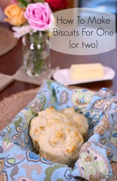 How To Make A Single Serving of Fluffy Biscuits For One or Two People | www.zagleft.com