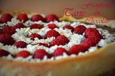 pointGleblog: Tarte Framboises et Chocolats