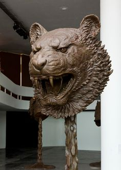 "Famed and controversial Chinese contemporary artist Ai WeiWei has re-interpreted twelve bronze animal heads, collectively representing the traditional Chinese zodiac that once adorned the famed fountain-clock of the Yuanming Yuan, an imperial retreat in Beijing. His ""Circle of Animals/Zodiac Heads"" exhibition will begin on May 2, 2011 at the Pulitzer Fountain at Grand Army Plaza, New York."