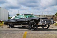 chevrolet chevy donk caprice classic rides magazine forgiato squat justice league car club