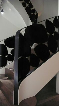 Metallic Sculpture : incredibly beautiful staircase railings by Eric Schmitt