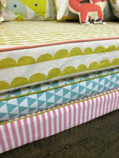 How to sew piping on a mattress cover!