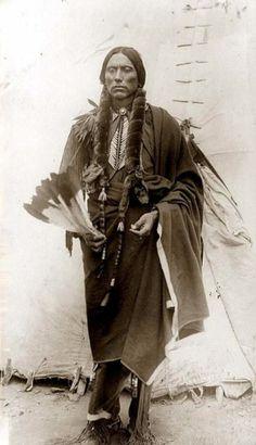 Edward Sheriff Curtis     Quanah Parker, Quahahda Comanche Warrior and Leader    Undated