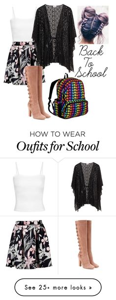 """Back to School Style"" by am-fandom on Polyvore featuring Gianvito Rossi and Wildkin"