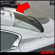FIT NISSAN ALTIMA 2DR//COUPE REAL CARBON FIBER REAR ROOF WINDOW SPOILER WING