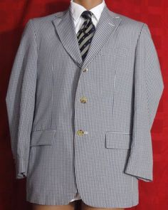 Orvis Cotton Blend Multi-color Plaid Vtg 3 Btton Sport Coat Size 38R #Orvis #ThreeButton